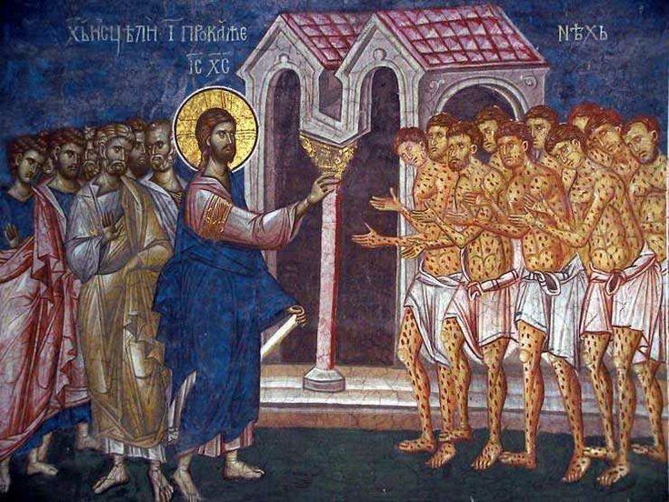 Noël : La contagion du Verbe dans Communauté spirituelle Jesus-Christ-guerit-dix-lepreux