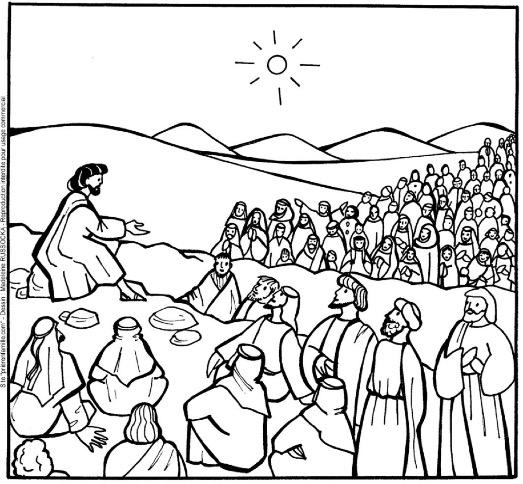 Coloriage Adulte Eglise.Partage D Evangile Pour Les 4 7 Ans Dimanche 17 Fevrier